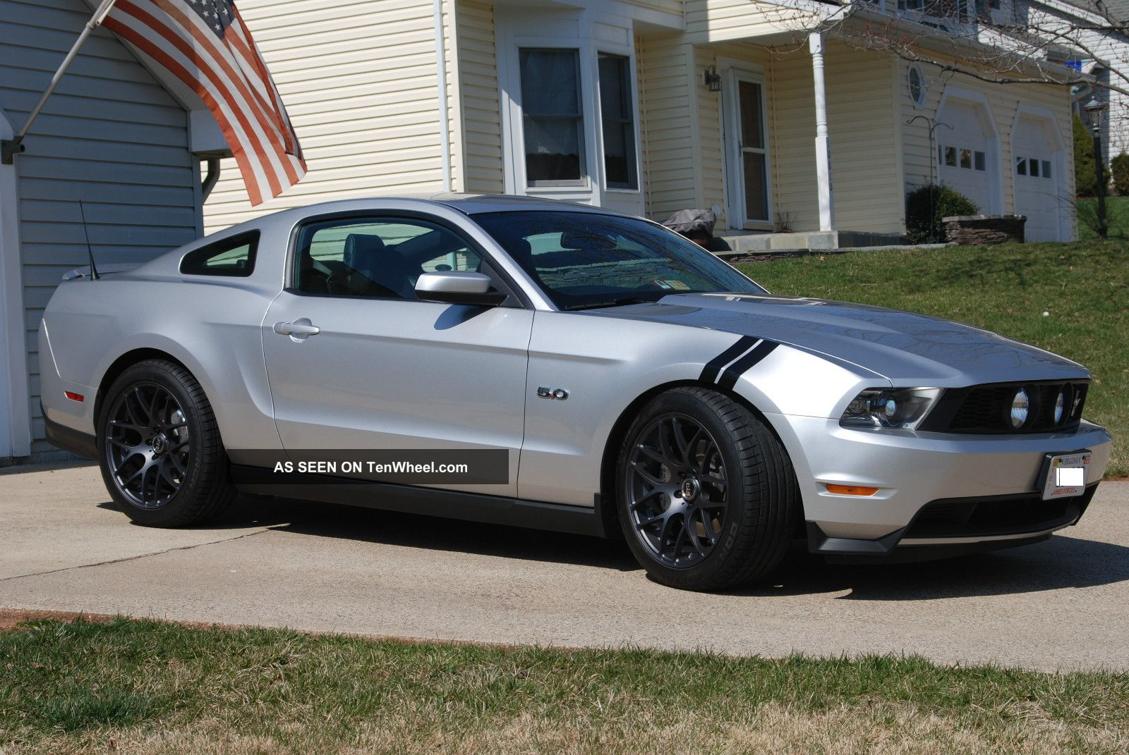 Pristine Lightly Modified 2011 Ford Mustang Gt