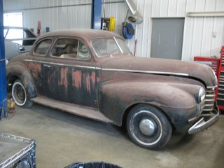 1940 Oldsmobile Coupe Street Rod Project Solid Body Chevrolet Ford photo
