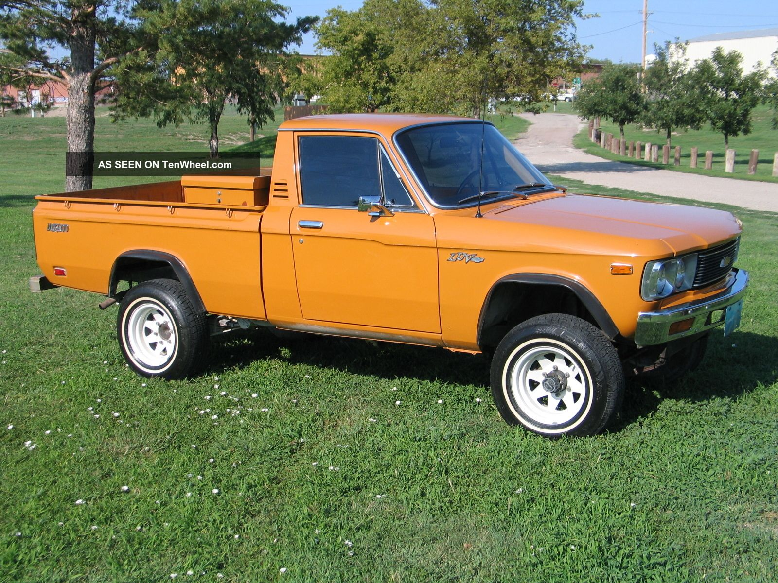 Chevy Luv 4x4 Lookup Beforebuying 1976 3 4 Ton
