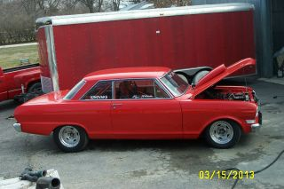 Street - Strip 1962 Chevrolet Nova,  Has 406 740 Horse Power Engine photo
