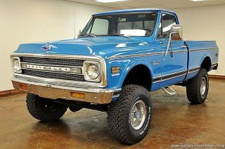 1970 Chevy K10 Shortbed 4x4 Pick Up photo