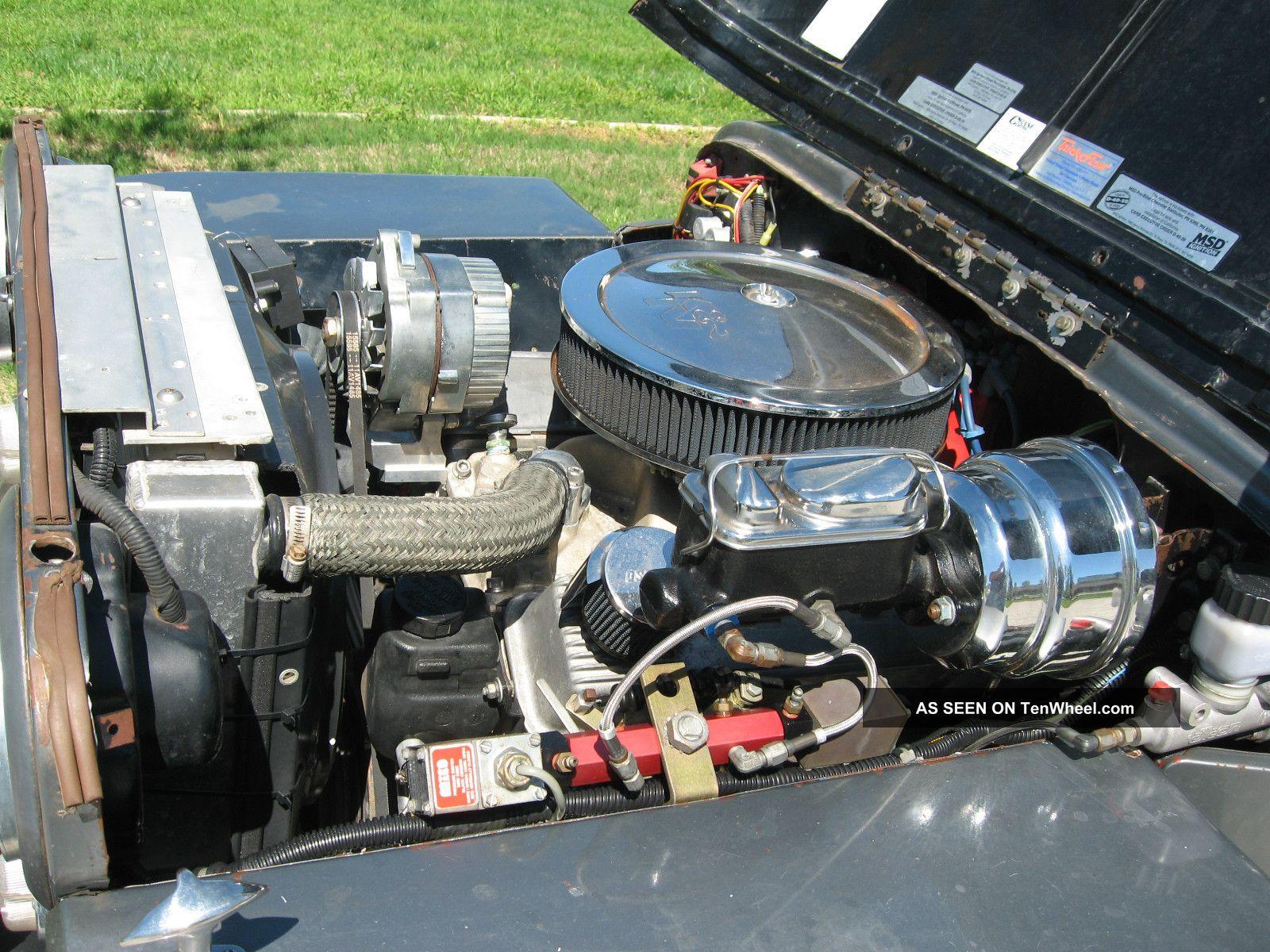 Frame Off Rebuilt 1945 Willys Cj2a 330hp Power Disk Brakes