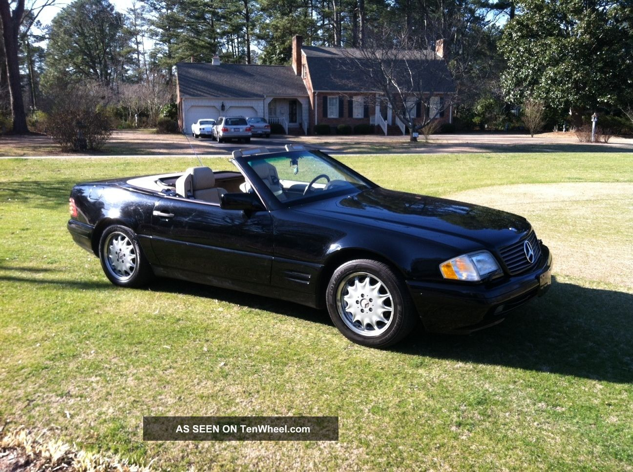 1996 mercedes benz sl500 base convertible 2 door 5 0l for Mercedes benz sl convertible