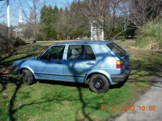 1986 Volkswagen Golf Base Hatchback 4 - Door 1.  6l Diesel photo