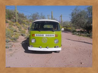 1976 Volkswagen Tin Top Camper Van photo