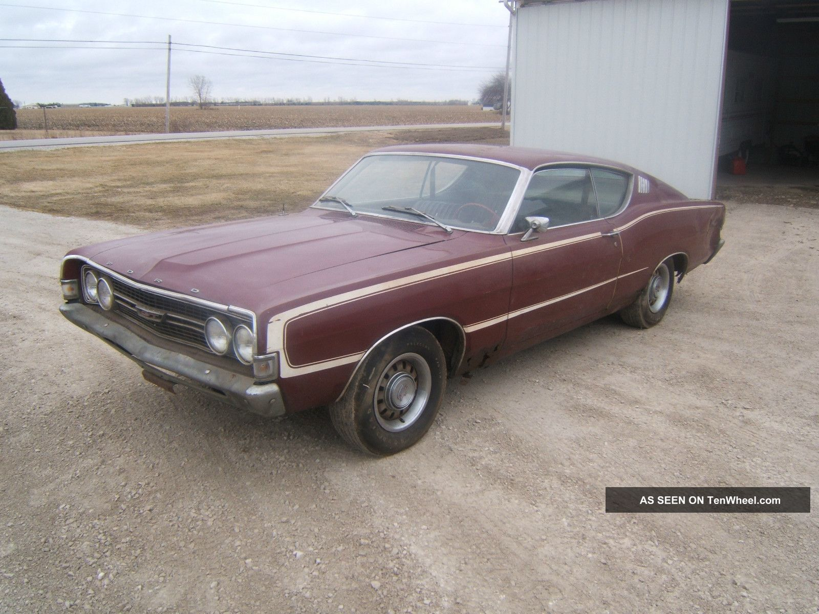 1968 Ford Torino Gt Fastback, One Family Owned,