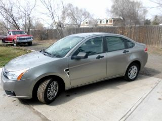 2008 Ford Focus 4 Door,  Ac,  Cruise,  Am / Fm / Cd Gray In Color, photo