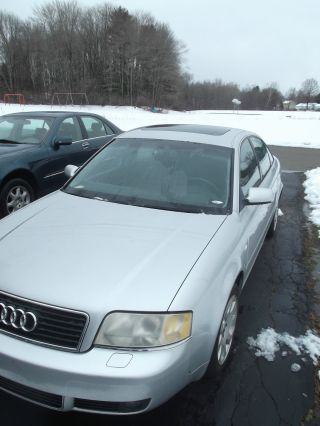 2002 Audi A6 Base Sedan 4 - Door 3.  0l photo