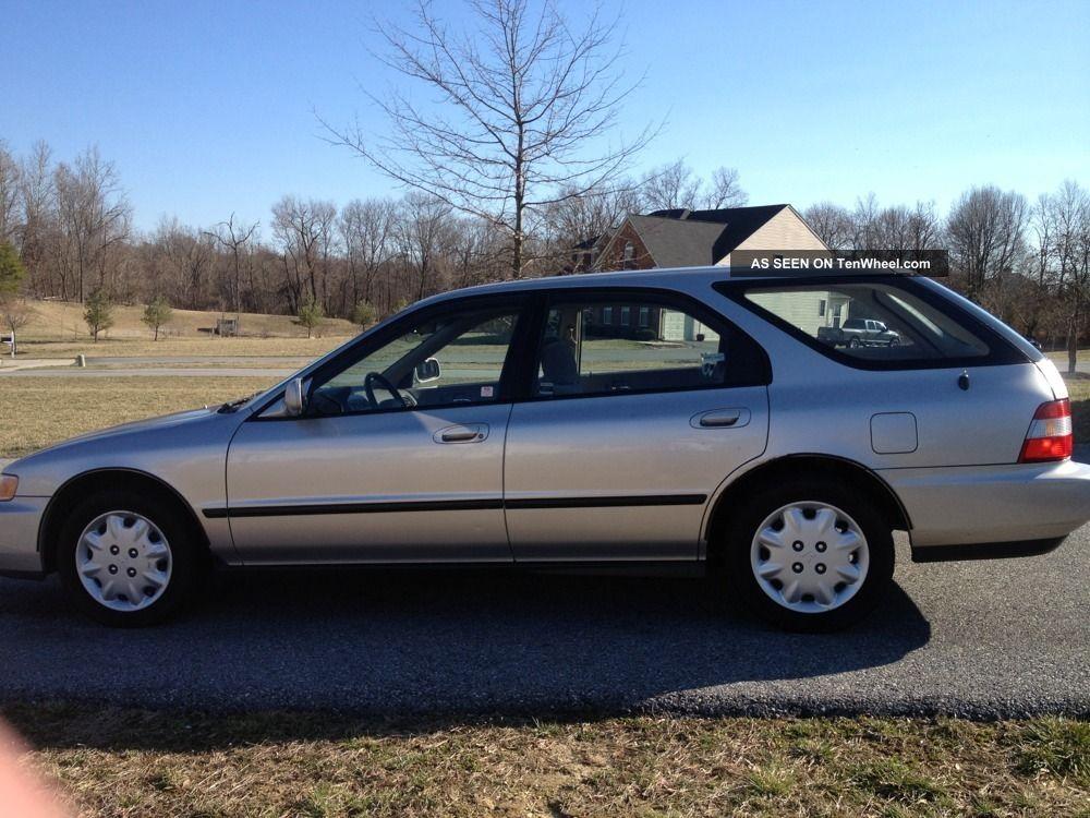 1996 honda accord lx wagon 5 door 2 2l tenwheel