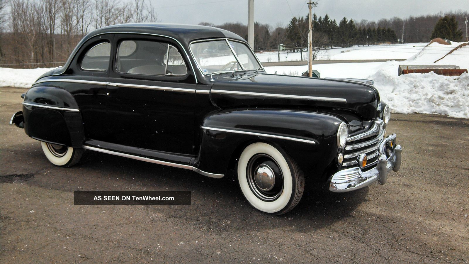1947 Ford Deluxe Coupe Flathead V8
