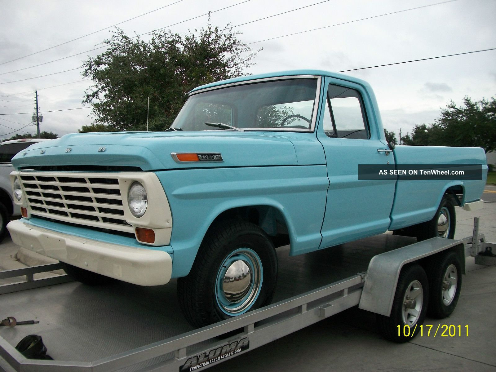Cars Trucks Ford F 100 Web Museum 1964 250 Highboy 4x4 1967 F100 Frame Off Restoration Photo