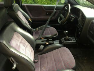 1990 Volkswagen Corrado G60 Coupe 2 - Door 1.  8l Supercharged,  Red Dot Interior photo
