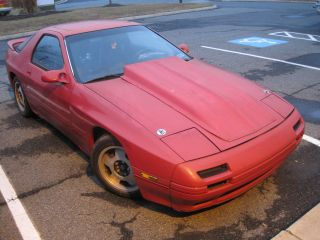 1990 Mazda Rx7 W V8 Engine Motor Swap Drift Drag Project Rx - 7 Fc3s Fc Non Turbo photo