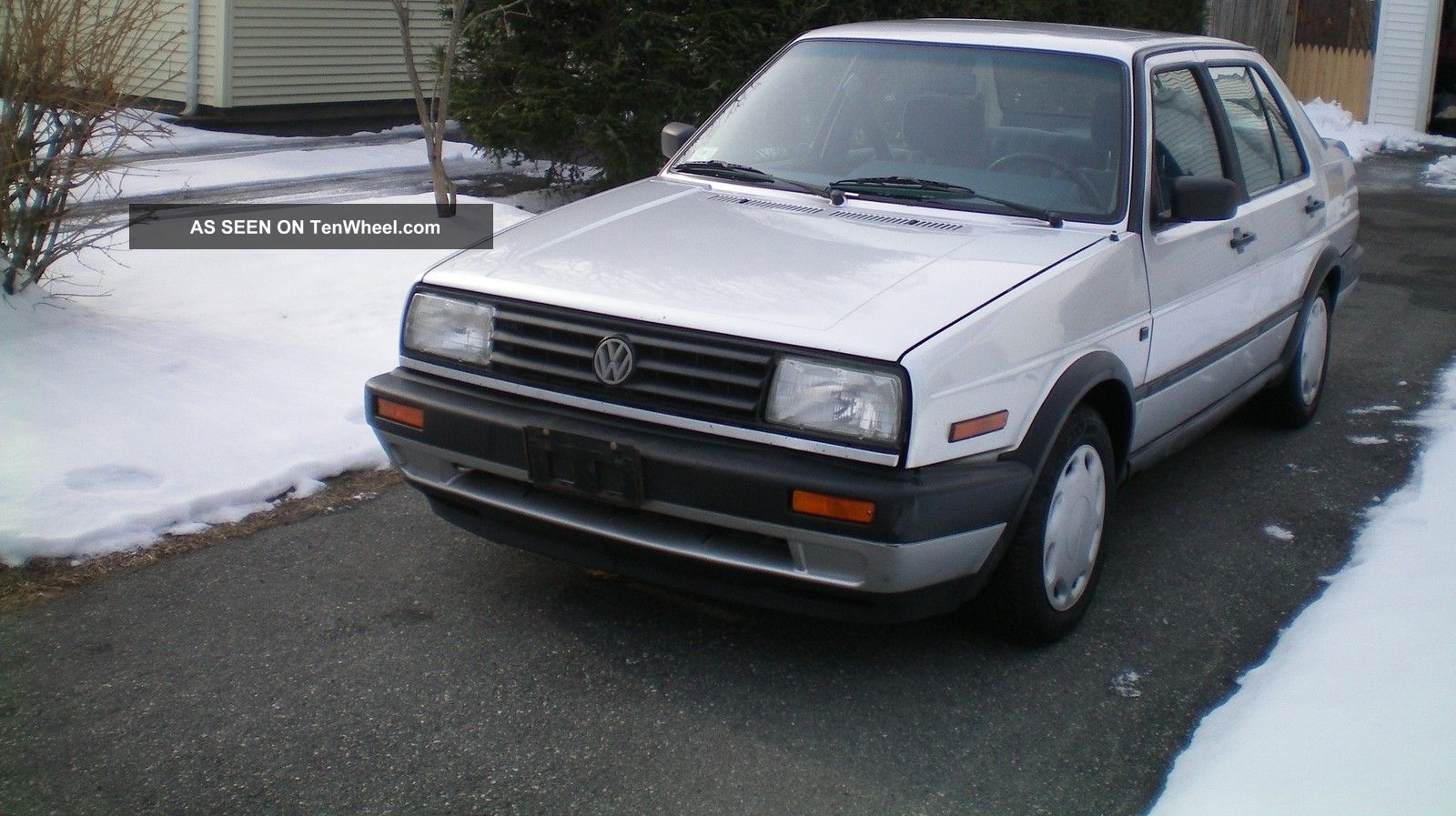 1991 Vw Jetta Gl Condition Car 5 Speed Solid Drive