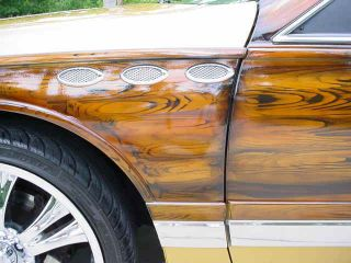 1993 Buick Roadmaster Estate Wagon Custom Woodgrain Airbrush Art / Mags / Lp Tires photo