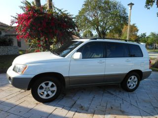 2001 Toyota Highlander Base Sport Utility 4 - Door 3.  0l photo
