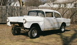 1955 Chevy Gasser Project Racecar photo