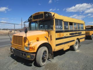 1991 I - H Thomas Body Short Wheelbase Diesel Bus 7.  3l Govt.  Surplus - Va. photo