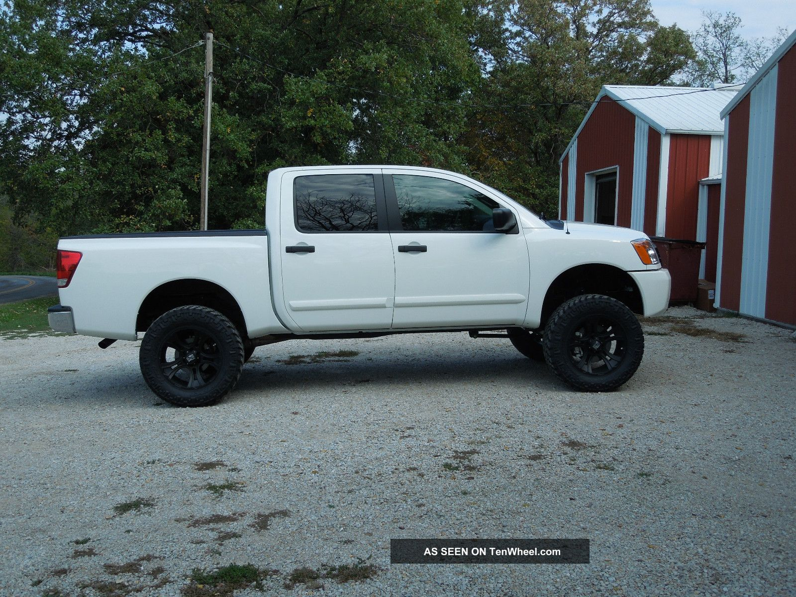 Nissan Titan Crewcab Photo Gallery