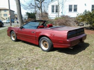 1987 Trans Am Convertible photo