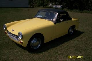 1969 Austin Healey Sprite Mark Iv photo