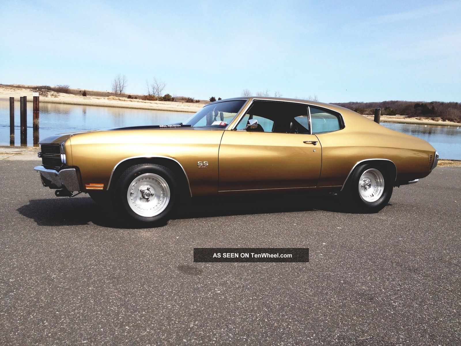 Gold 1970 Chevy Chevelle Ss 454