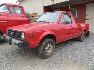 1980 Vw Rabbit Pickup Truck Caddy Photo