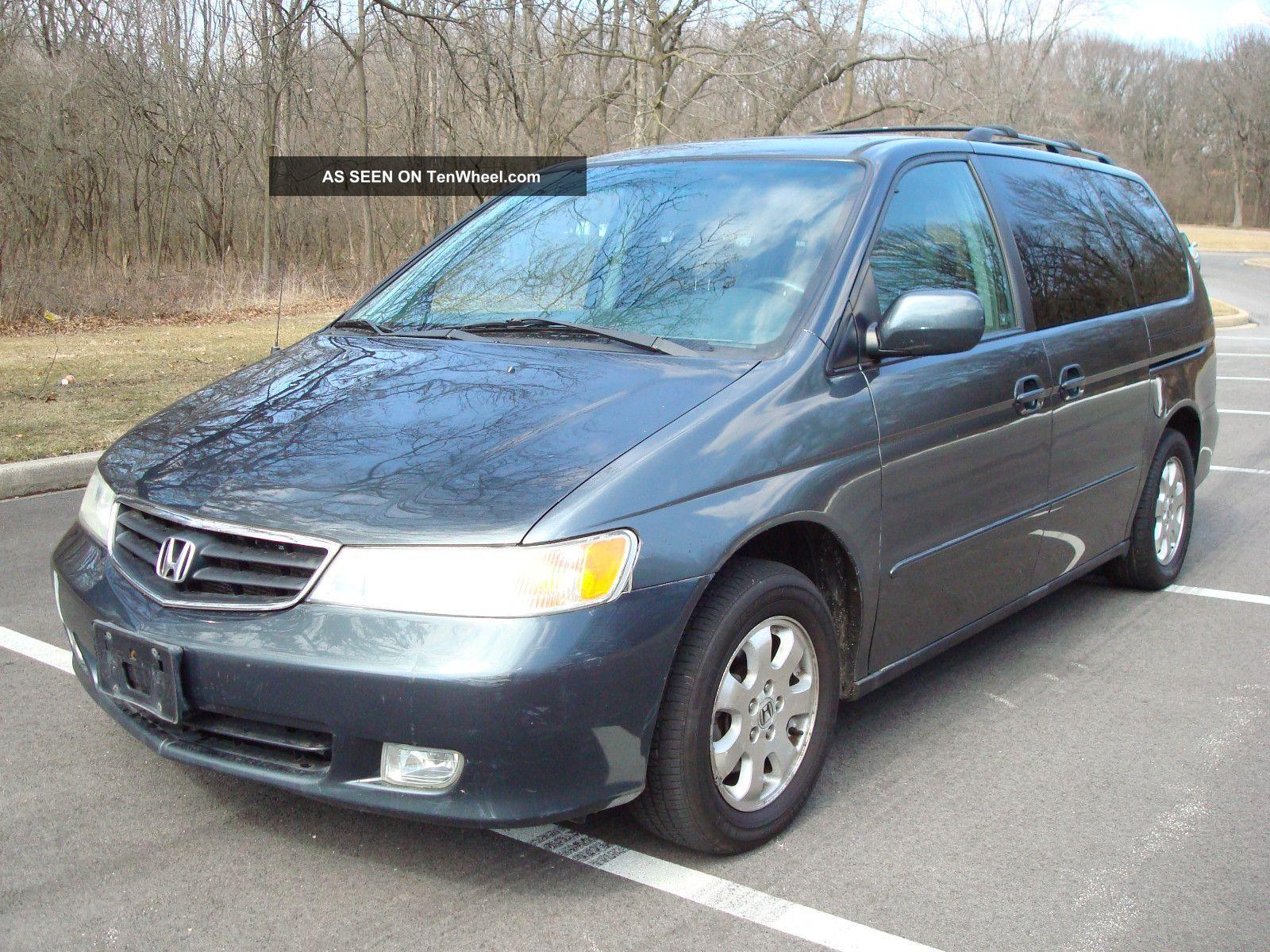 2004 Honda Odyssey Ex Dvd 3rd Row