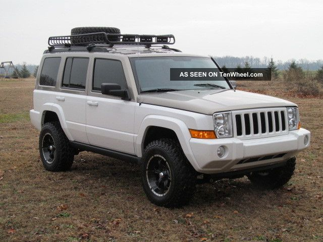 2006 Jeep Commander Lifted 2006 Jeep Commander Custom Lifted