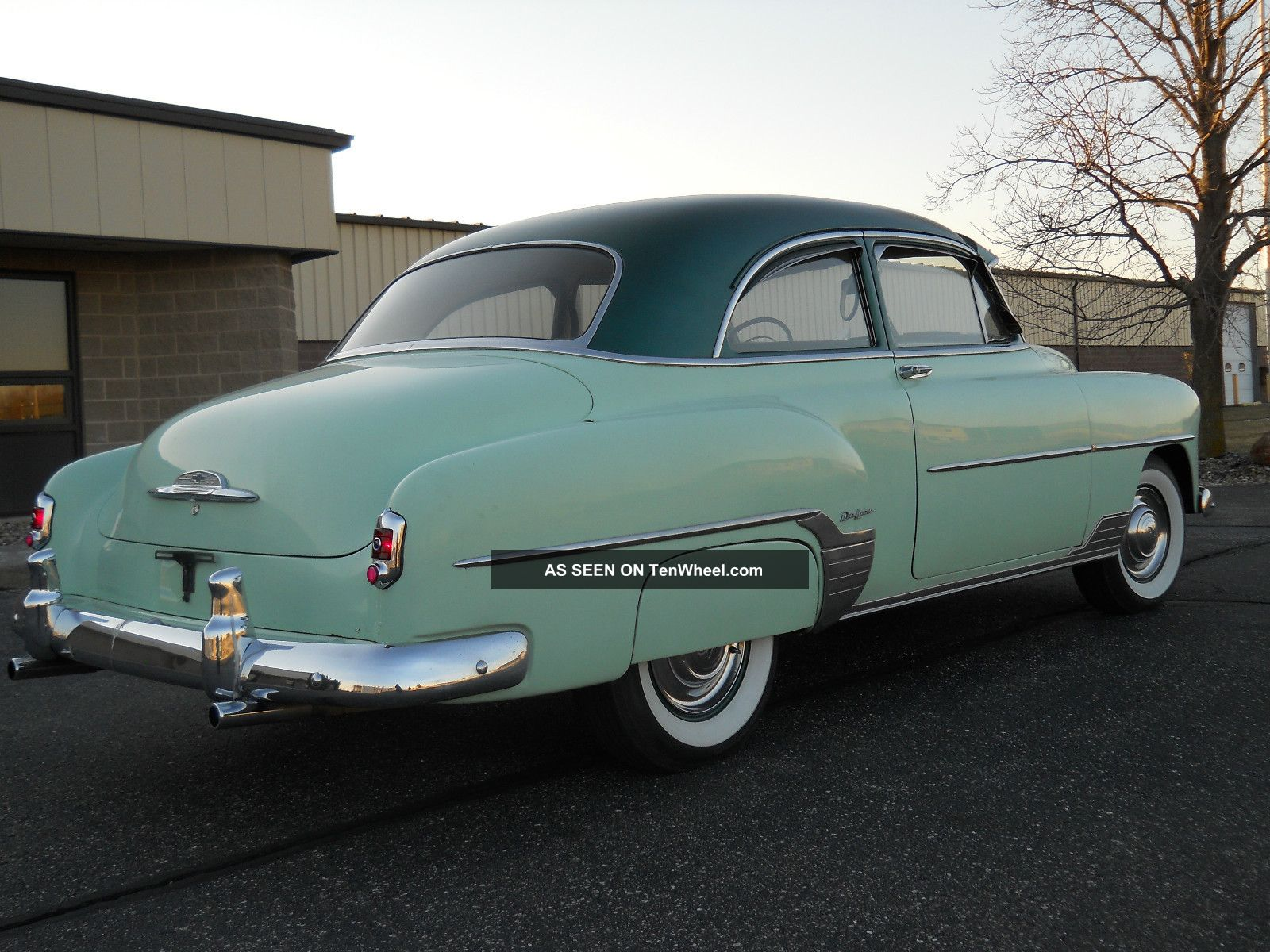 Quot 1952 Chevy Deluxe Excellent Unrestored Condition