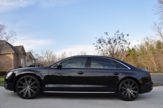 2012 Audi A8 L Best On Ebay $7000.  00 Wheels Celebrity Status photo