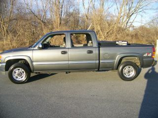 2001 Gmc Sierra 1500 Hd Slt Crew Cab Pickup 4 - Door 6.  0l photo