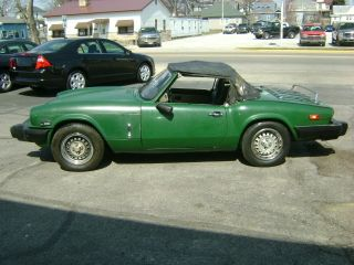 1980 Triumph Spitfire 1500? Convertible Will Make A Good Daily Driver photo