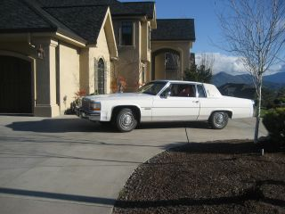 1982 Cadillac Deville Base Coupe 2 - Door 4.  1 V8 Condition 1981 1983 1984 photo