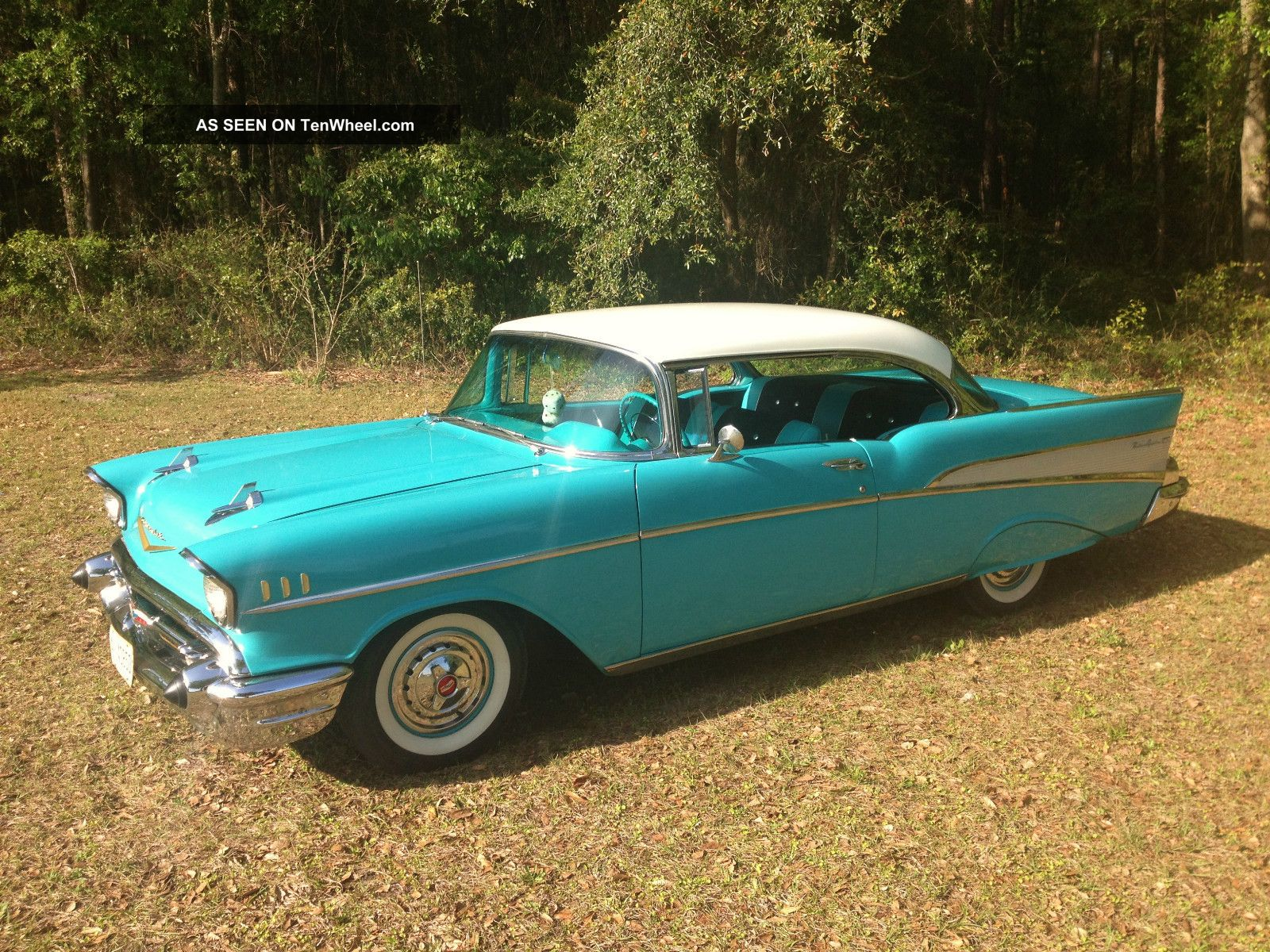 1957 Chevrolet Belair 2 Door Hardtop (chevy 55 56 57) Bel Air/150/210 photo