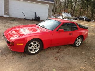 Porsche The Only Real Sports Car 1985 5 Speed Engine,  Clutch,  103 K photo