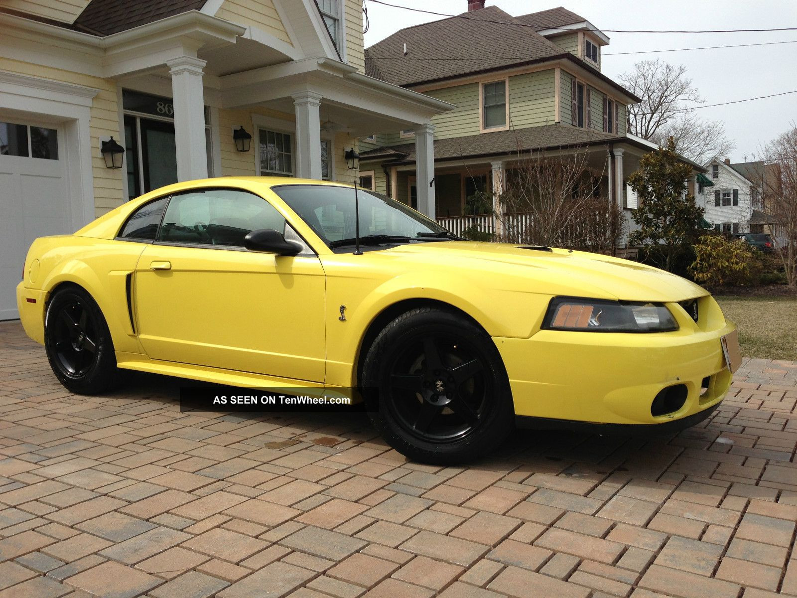 2001 Ford Mustang Gt 4 6 V8 5 Speed Manual Black