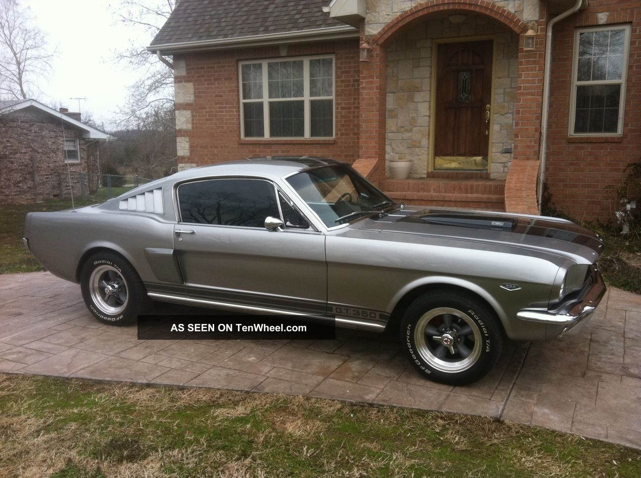 1965 mustang fastback engine - photo #38