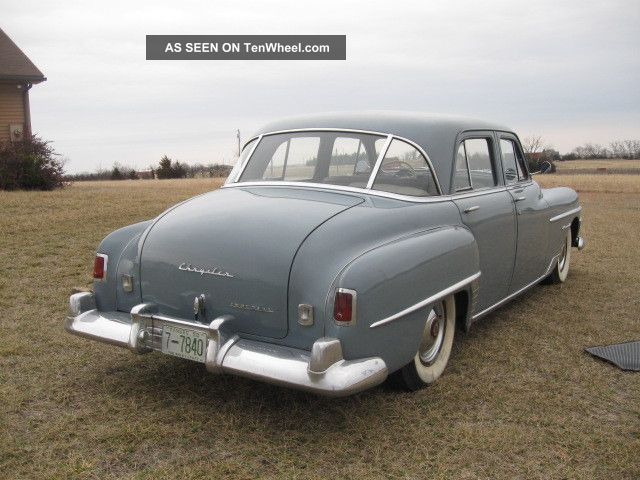 1950 Chrysler Imperial In Incredible Condition Imperial photo