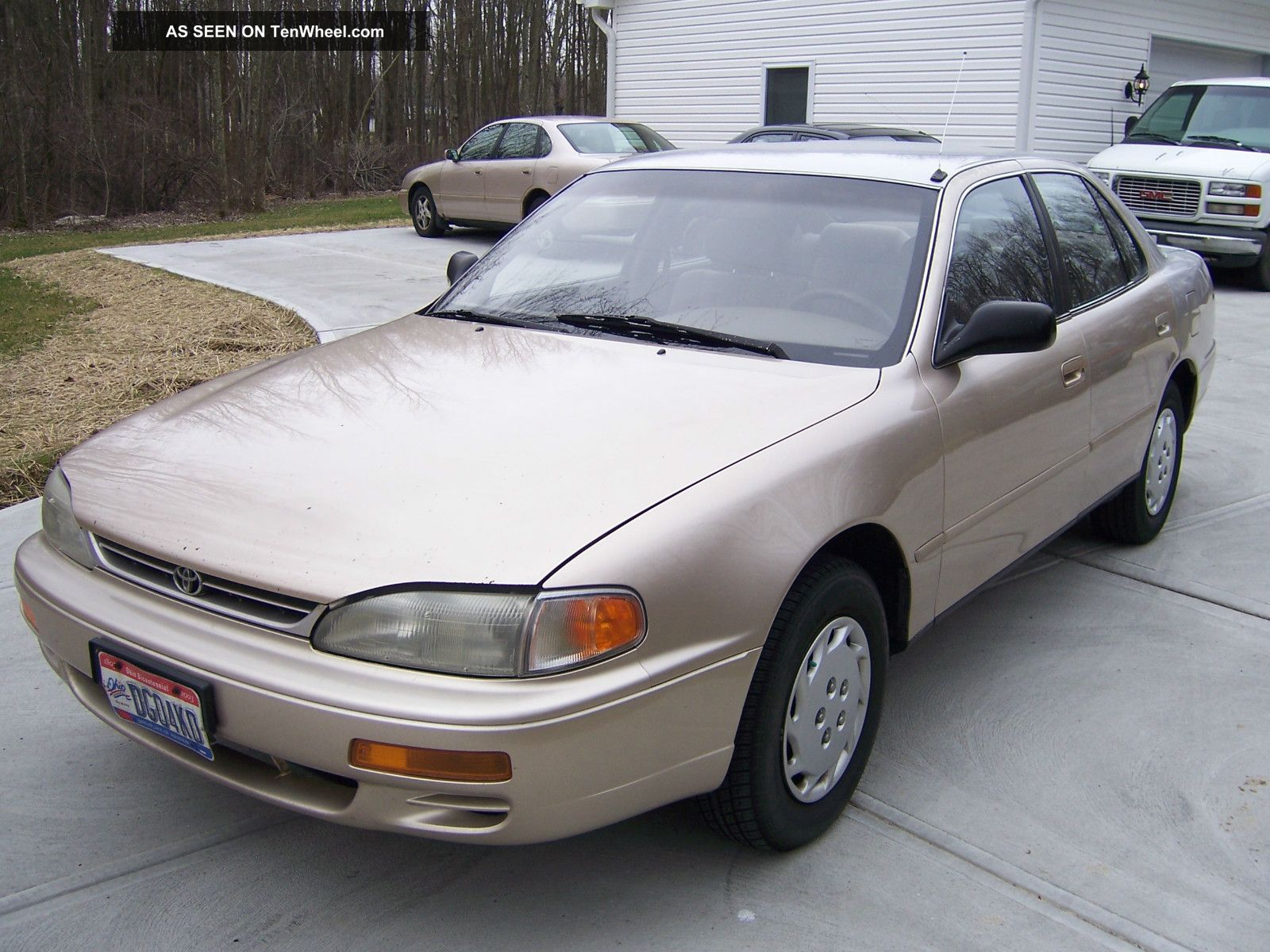 Toyota Camry 1996 Sedan 1996 Toyota Camry dx Sedan 4
