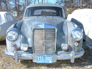 1956 Mercedes Benz 220a,  Solid Project Classic From Estate,  Condition photo