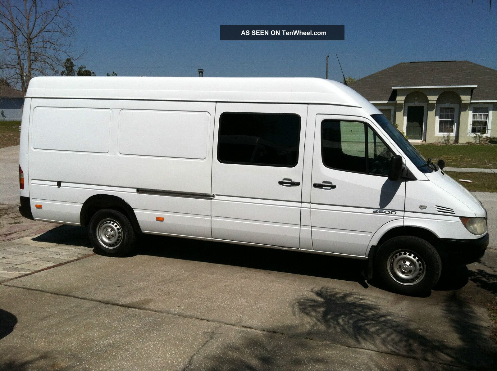 2004 Dodge Sprinter Freightliner 2500 High 6 Ceiling