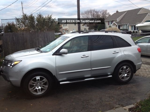 2007 Acura Mdx With Technology Package  Excellent