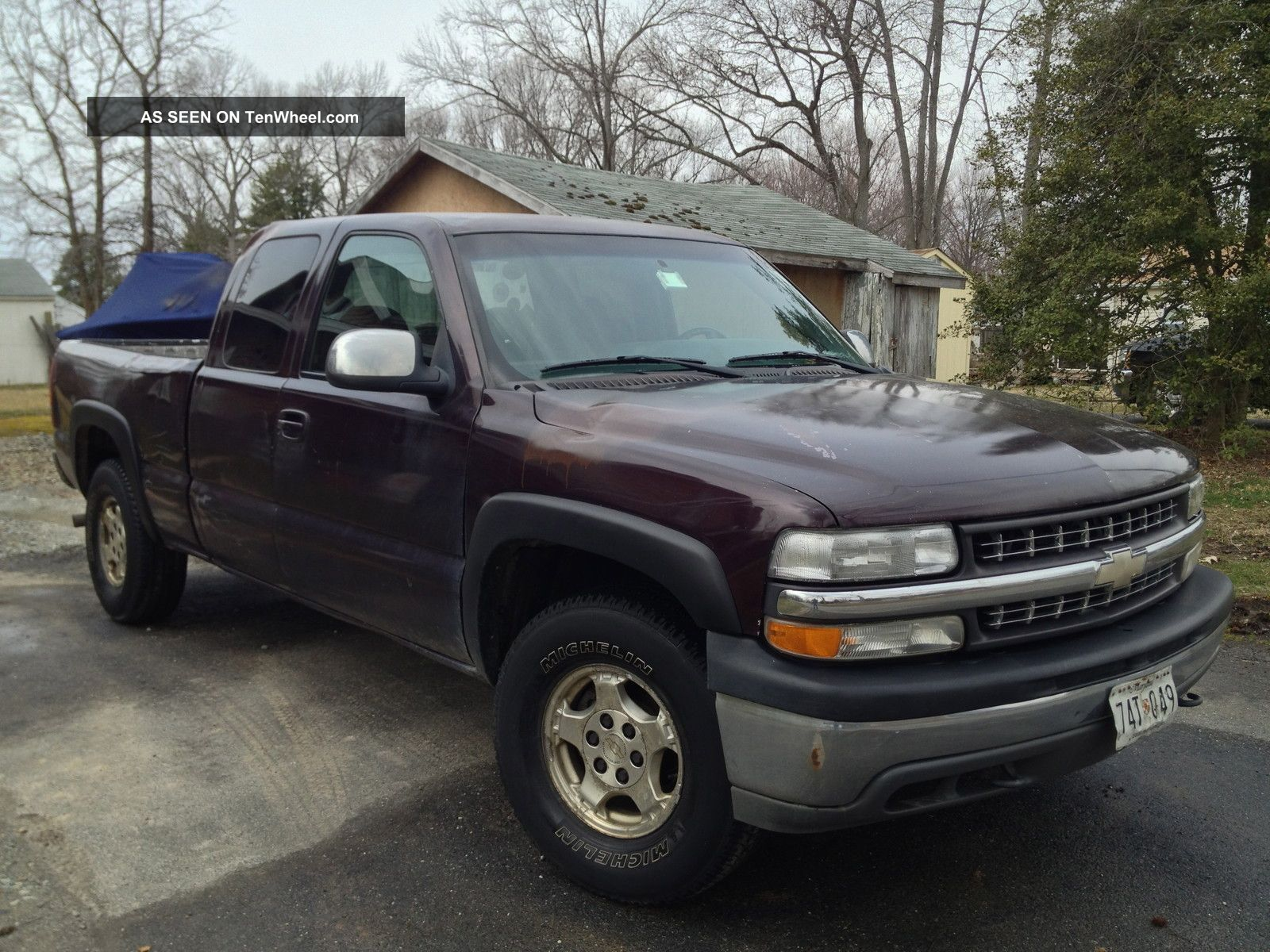 2002 chevrolet silverado 1500 ls extended cab pickup 4 door 5 3l. Black Bedroom Furniture Sets. Home Design Ideas