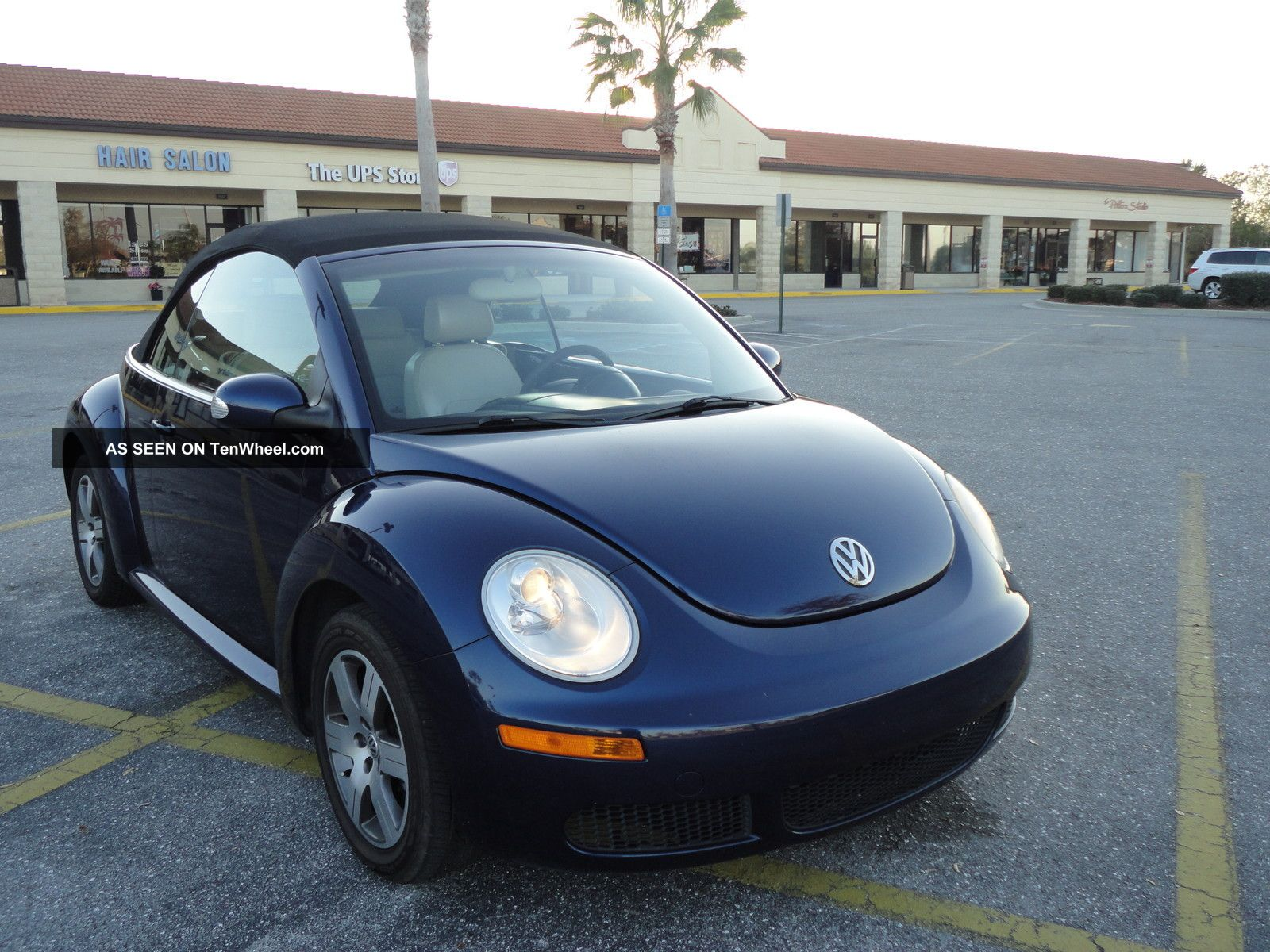 2006 volkswagen beetle 2 5 conv florida car automatic power top. Black Bedroom Furniture Sets. Home Design Ideas