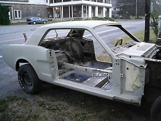 1965 Ford Mustang A Code Project photo