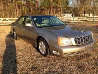 2000 Champagne Cadillac Deville Cold A / C & Hot Heat photo