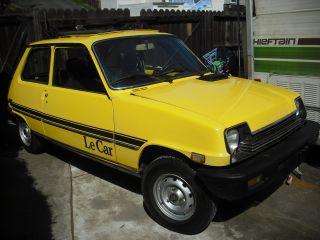 1979 Renault Le Car Barn Find R5 photo