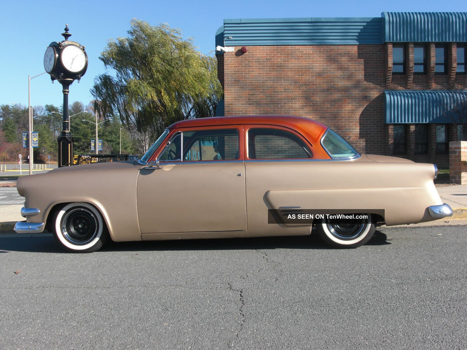 1954 Ford Customline 2d Sedan Hot Rod Mild Custom Other photo