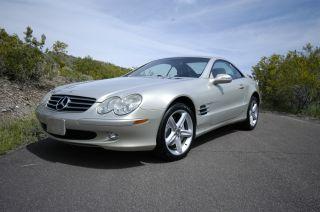 2003 Mercedes - Benz Sl500 Base Convertible 2 - Door 5.  0l,  Adult Owned photo